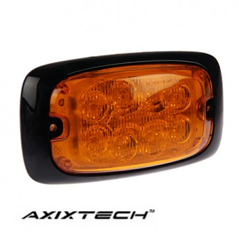LED Blixtljus Axixtech 8LED HD, ECE-R65 Godkänd