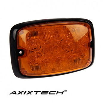 LED Blixtljus Axixtech 12LED HD, ECE-R65 Godkänd