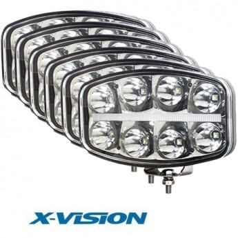 6-PACK X-VISION QUADRATOR 64W