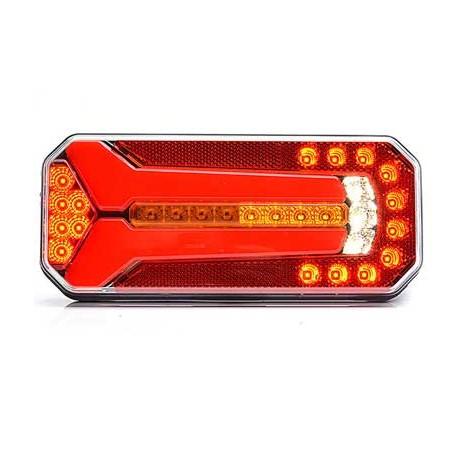 LED Bakljus, Dynamisk, 5-kammars