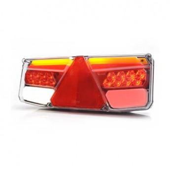 LED Bakljus Vänster, Dynamisk, Släpvagn, Semitrailer