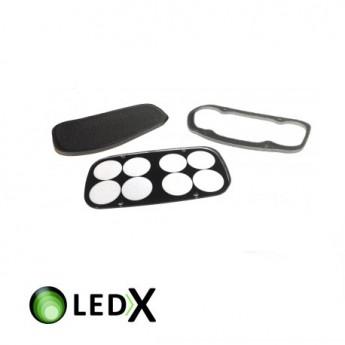 LEDX skyddsglas