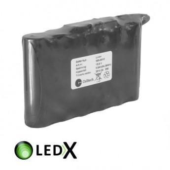 LEDX Batteripack Medium