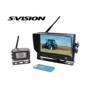 Backkamerasystem S-Vision 7-tumsskärm WK1