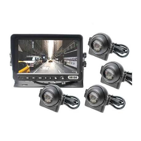 Backkamerasystem 7-tumsskärm CK1 Veise