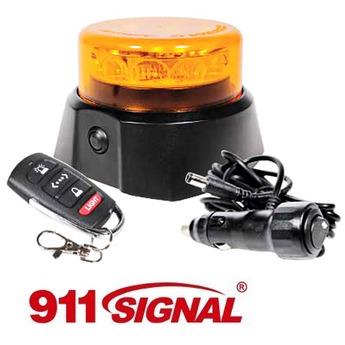 LED varningsljus 911 Signal C12 Mag, trådlös saftblandare med kontroll