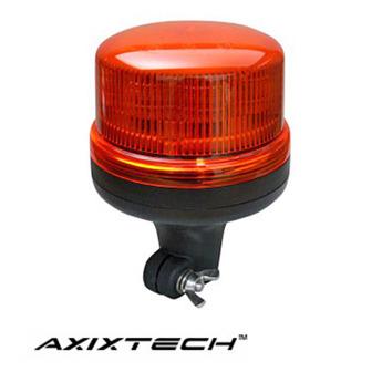 LED Varningsljus Axixtech 8LED, Flexistång, ECE-R65 godkänd