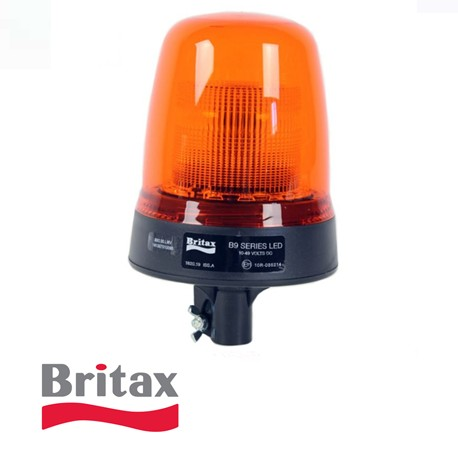 LED VARNINGSLJUS BRITAX 6LED B9, Flexi-DIN montage