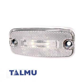 LED-markörljus Talmu, Vit