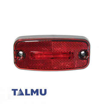 LED-markörljus Talmu, Röd