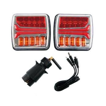 LED bakljus, Blinker, Broms, Positionsljus 12V till Lastbil & Släpvagn