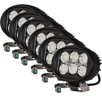 6-PACK Oledone Osram LED arbetsbelysning 7200 lumen
