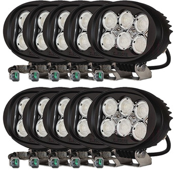 10-PACK Oledone Osram LED arbetsbelysning 7200 lumen