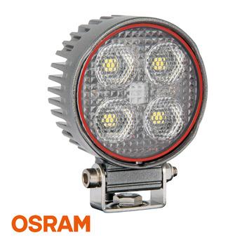 LED arbetsbelysning 24W, Rund, Osram, Grå