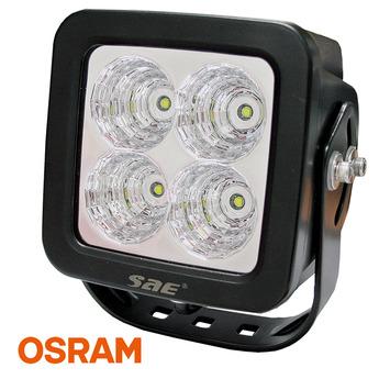 LED arbetsbelysning 40W Kvadrat