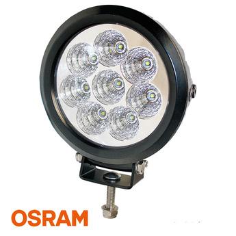 LED Arbetsbelysning 80W, Rund