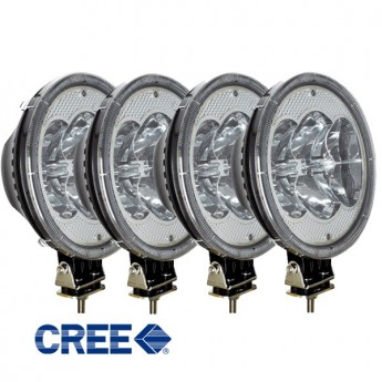 4-PACK Strands 6LED 60W