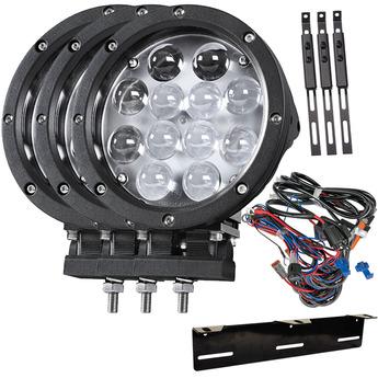 LED extraljus 3-PACK Gripen 12L 60W