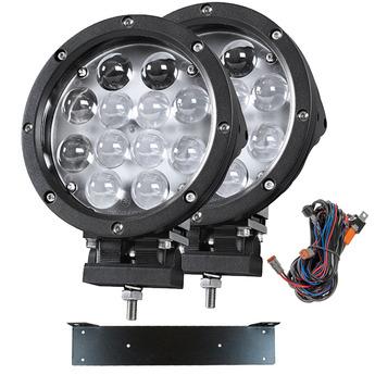 LED extraljus paket 2-PACK Gripen 60W