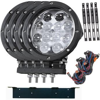LED extraljus paket 4-PACK Gripen 60W