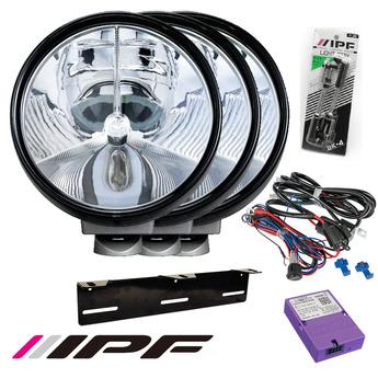 3-PACK IPF 940 LED SRL3 SUPER RALLY LED extraljus paket till Canbus