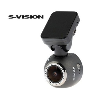 Bilkamera, Dashcam S-Vision Rund Full HD