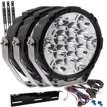 SUPERVISION W-LIGHT BOOSTER 9""