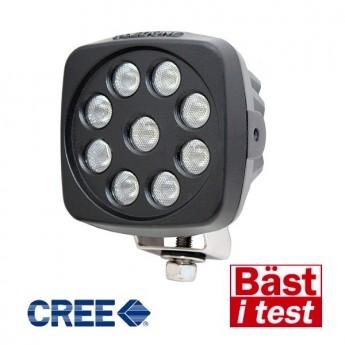 LED arbetsbelysning Oledone Cree 27W 10st paket