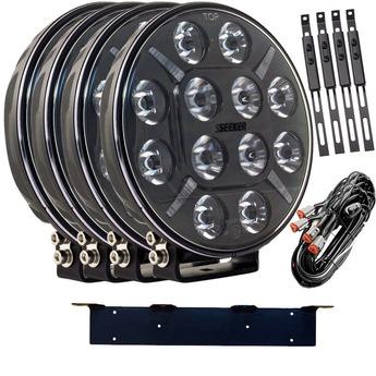 4-PACK SEEKER 12X 60W LED extraljus kit