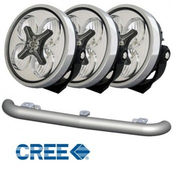 "3-PACK SALA LED 7"" 40W med Minibar"