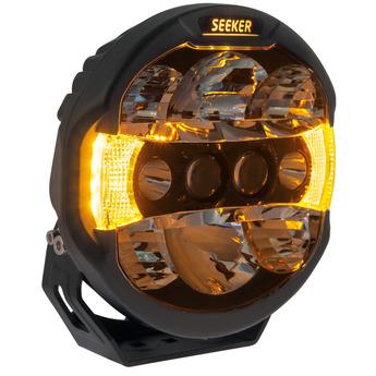 """SEEKER QUANTUM LEDZER LED Extraljus 9"""" tum"""