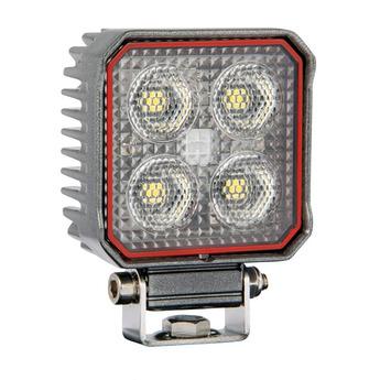 LED arbetsbelysning 24W, kvadrat, osram, grå