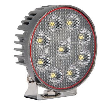 LED arbetsbelysning 54W, Osram, rund, grå