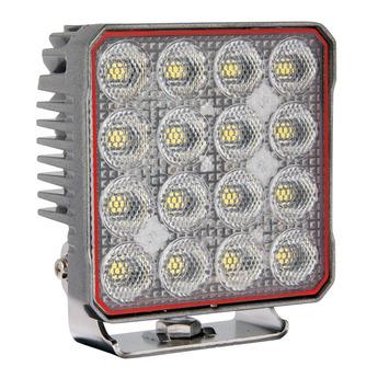 LED Arbetsbelysning 96W, Osram, Kvadrat, Grå