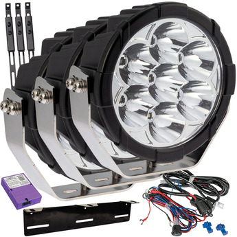 "SUPERVISION W-LIGHT BOOSTER 9"" Canbus-paket"