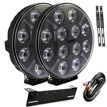 2-PACK SEEKER 12X 120W LED extraljus paket