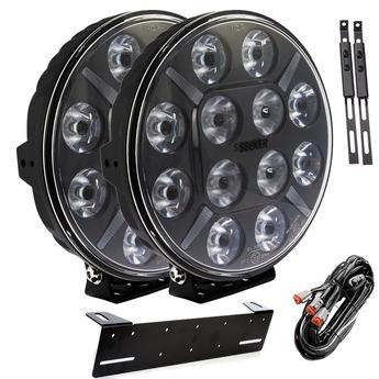 2-PACK SEEKER 12X 120W LED extraljus paket