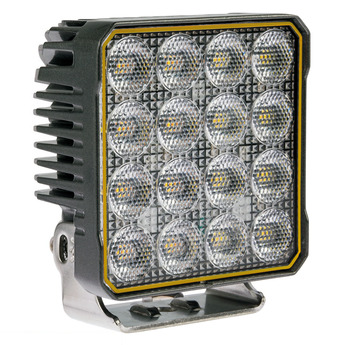 4-PACK LED Arbetsbelysning 90W, Osram, Inbyggt blixtljus