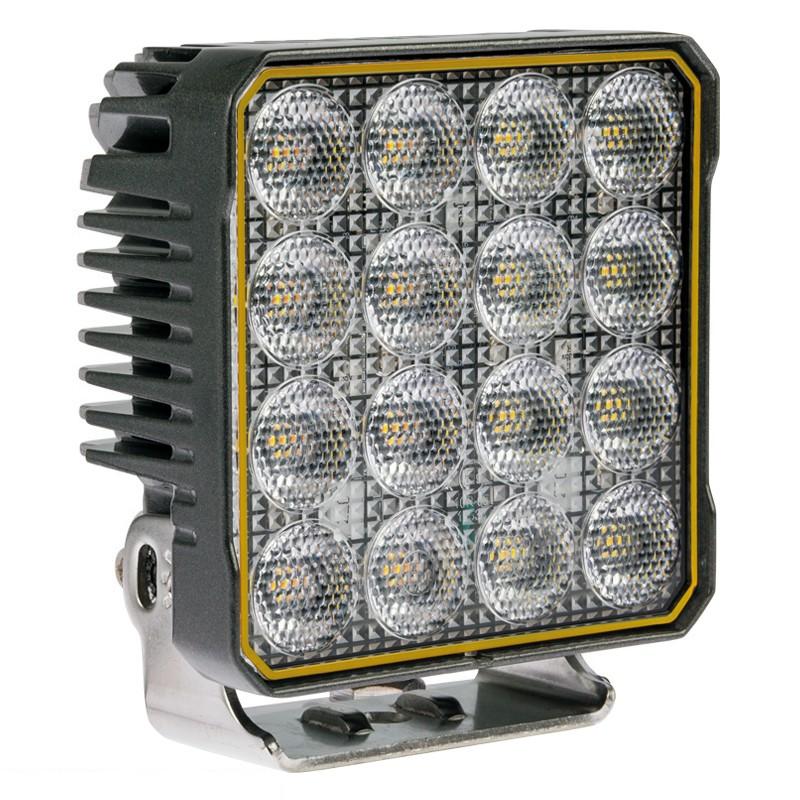 10-PACK LED Arbetsbelysning 90W, Osram, Inbyggt blixtljus