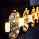 "2-PACK SEEKER QUANTUM LED Extraljuspaket 9"" tum 120W med fordonsbåge"