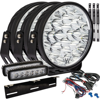 LED EXTRALJUS SUPERVISION W9 144W BACKLJUS PAKET