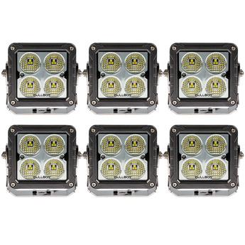 6-PACK LED arbetsbelysning 50W, OSRAM S8