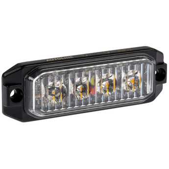 LED Blixtljus Autoline 4LED, Varningsljus, ECE-R65 Godkänd