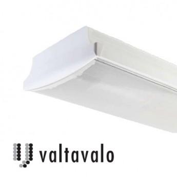 Duo lysrörsarmatur LED armatur