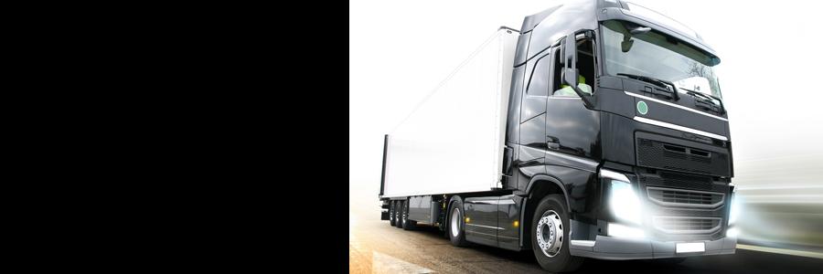 lastbil och fordonbelysning