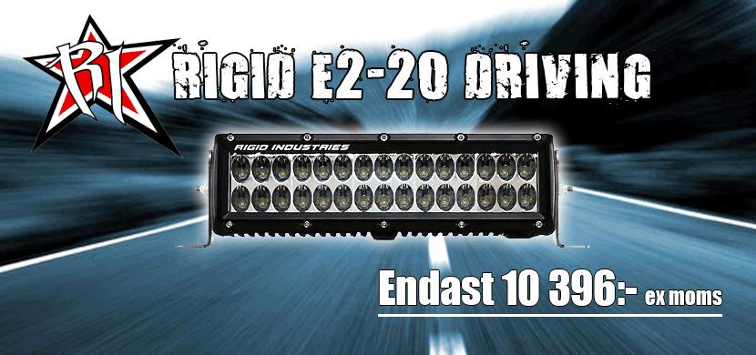 Rigid E2 20 Drive E-märkt